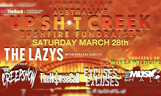 Up sh*t Creek bushfire Fundraiser 75% sold out in first 24 hours!