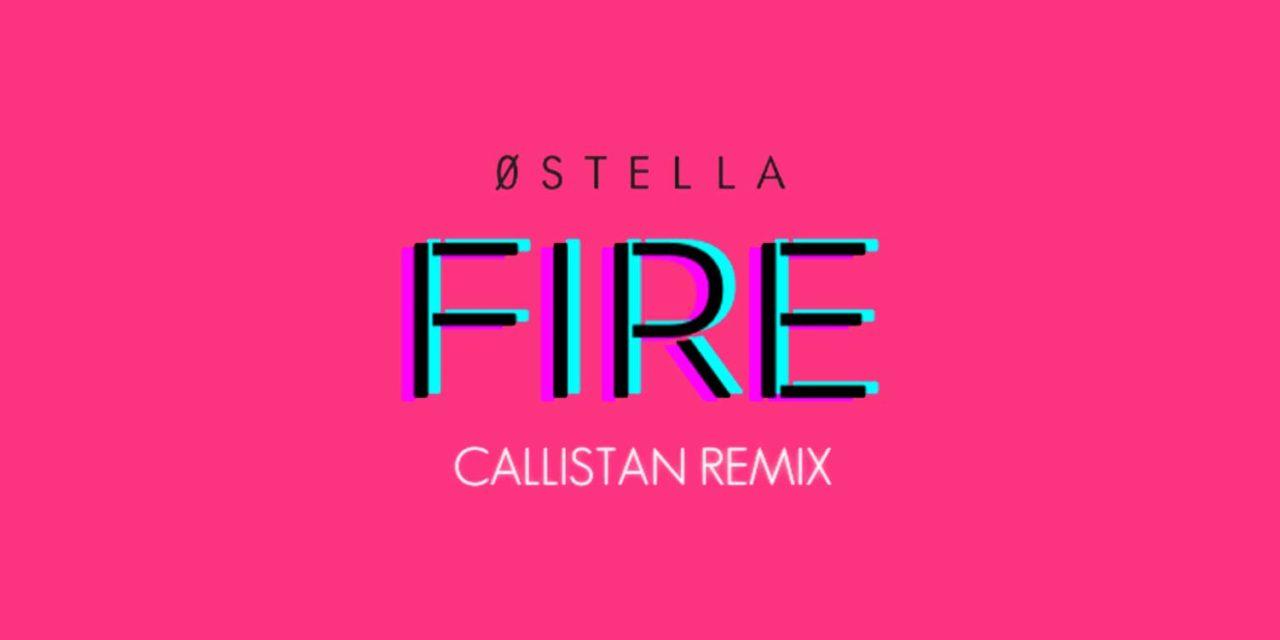 Callistan illuminates 0Stella's fiery declaration of imperfection IN REMIX
