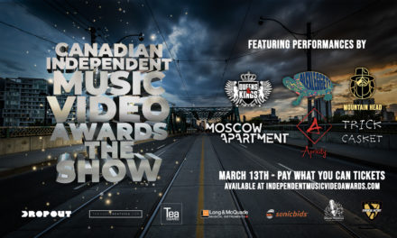First Round Of Performers For The 3rd Annual Canadian Independent Music Video Awards, The Show Announced!