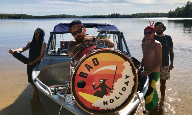 "Toronto's Bad Holiday Releases Cover of Bif Naked's ""Moment Of Weakness"""