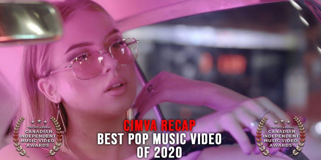 Best Pop Music Video of 2020, Announcement & Acceptance Speech – CIMVA Recap